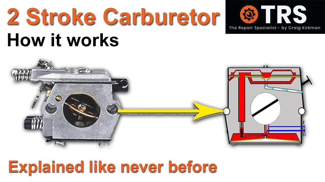 how to easily understand a two stroke cycle carburettor to help fix your own save money [ 1280 x 720 Pixel ]