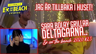 REAGERAR PÅ EX ON THE BEACH | EP 23 *JAG, SARA BOLAY OCH ANNA LISA CHECKAR IN🔥*