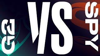 G2 vs. SPY - Week 8 Day 1   LEC Spring Split   G2 Esports vs. Splyce (2019)