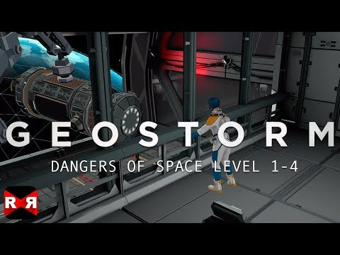 Geostorm (By Sticky Studios) - ISS IV Level 1-4 - iOS / Android Walkthrough Gameplay