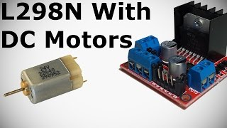 L298N with DC Motors Tutorial - How to Control DC Motor with L298N