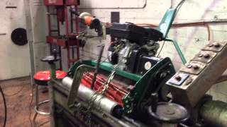 Cylinder Mower Sharpening