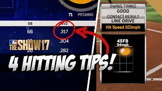 How to be a Better Hitter in MLB The Show 17