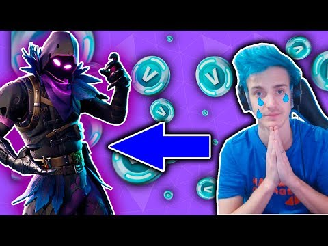 BUYING *THE NINJA OF PS4 KID* HIS 1ST EVER FORTNITE SKIN! (his reaction is PRICELESS!)