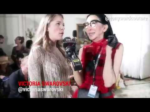 FASHION HACK Beauty & the Bling @victoriaswarovski