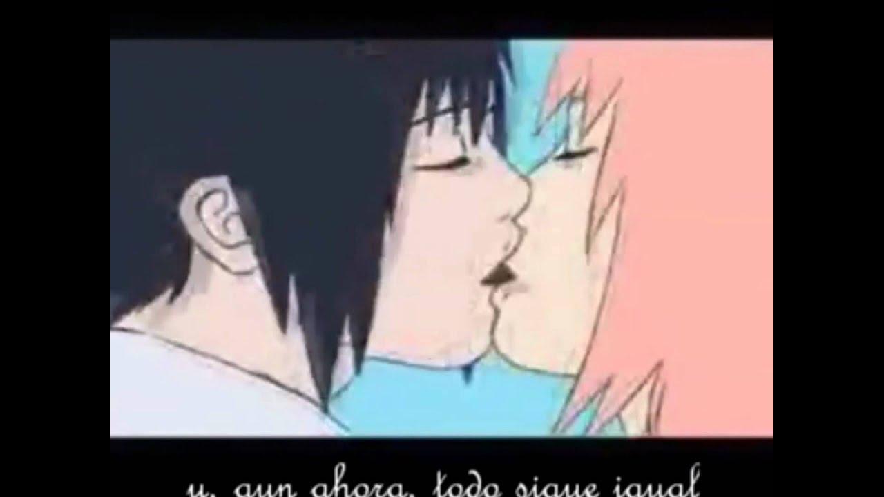 Sasuke y Sakura se besan   YouTube