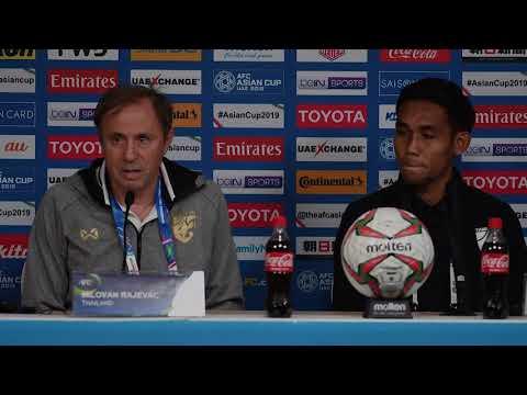 Thailand's Milovan Rajevac Matchday 1 pre-match press conference