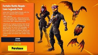 "How to Unlock ""LAVA LEGENDS PACK"" in Fortnite (LAVA LEGENDS SKIN PACK)"