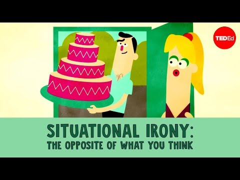Situational irony: The opposite of what you think  Christopher Warner