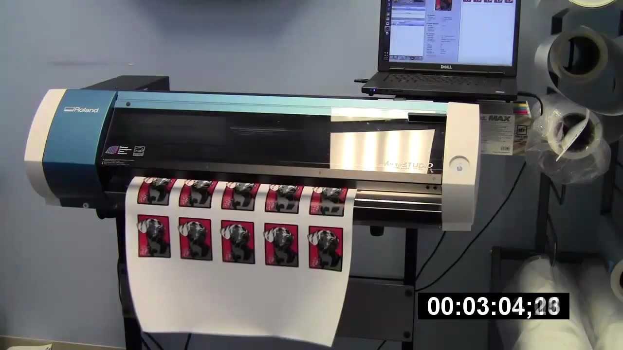 Bn20 Versastudio Print Modes And Speed Updates Youtube