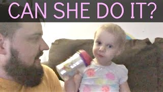 🚽 Potty Training A Stubborn 2 Year Old/ Day 1 👧�