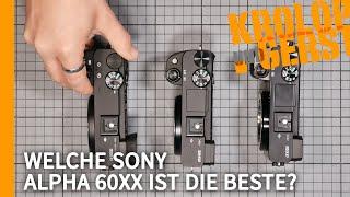 Sony A6100, A6400 oder A6600? Welche 60xx ist die Beste? 📷 Krolop&Gerst