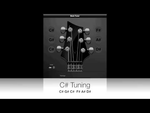 C# (Sharp) Guitar Tuning