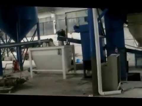 production line both for perlite mortar and tile adhesive
