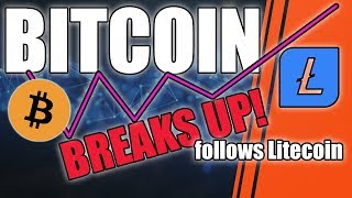 BITCOIN BREAKS UP   BTC Price Update
