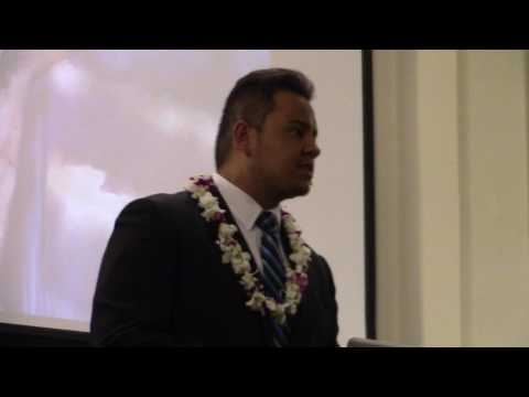 Young Man 19, Preaching About The Cross - Hawaii
