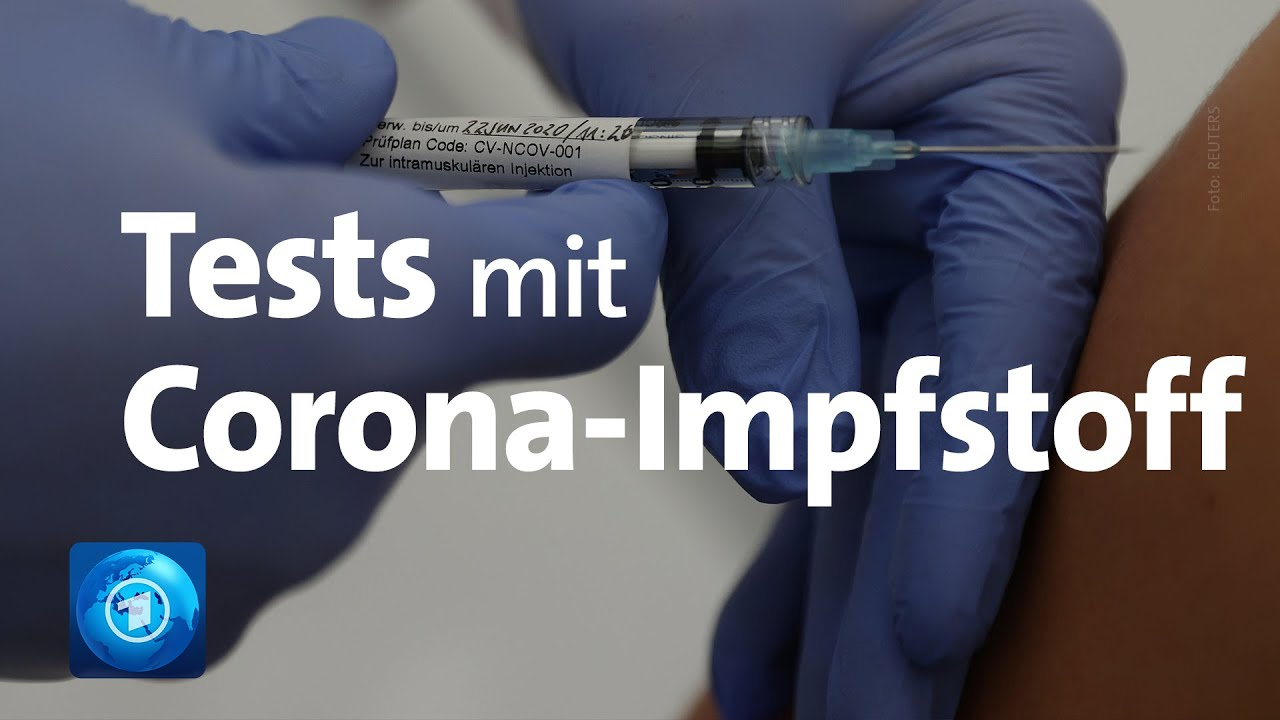 Tests Mit Corona Impfstoff Youtube