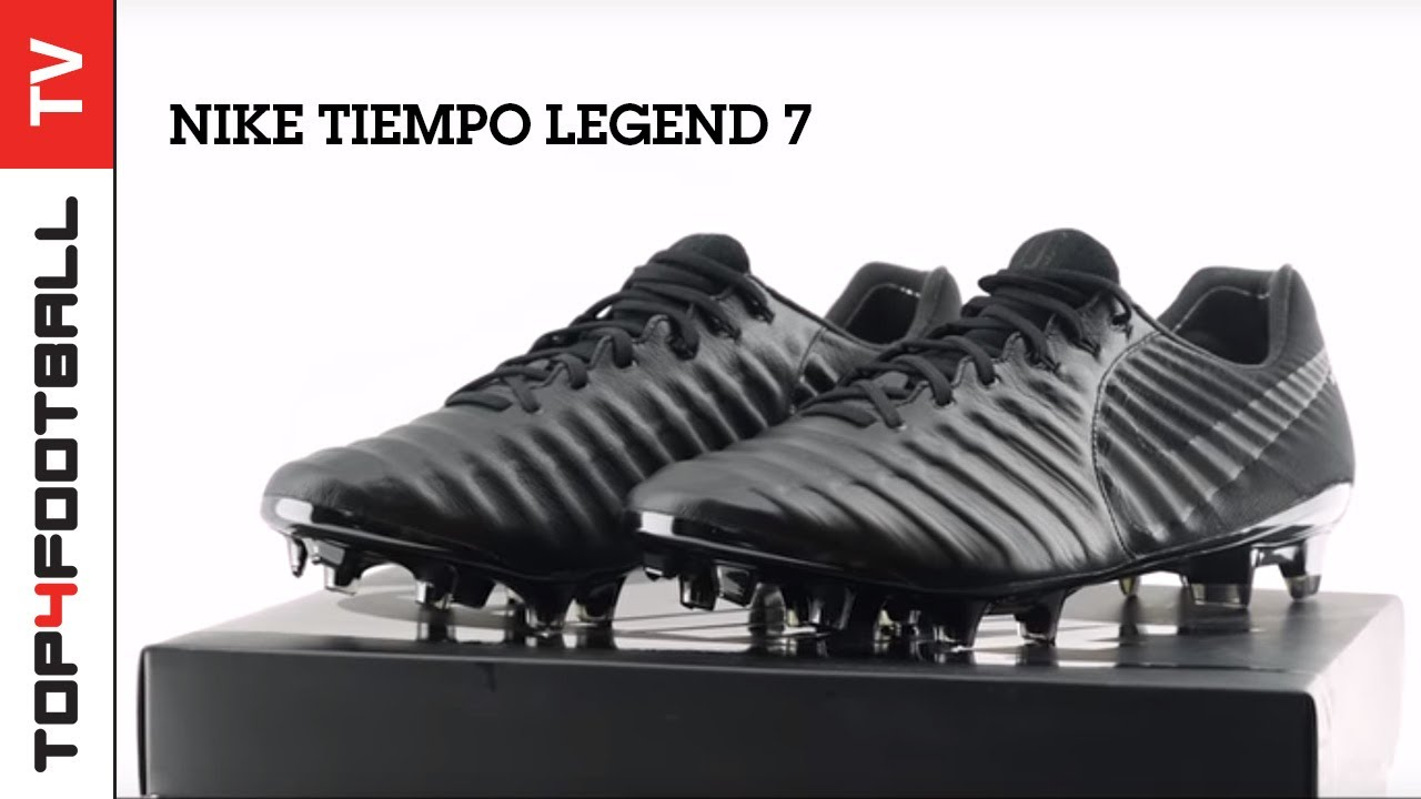 finest selection c74c5 4b92f TOP4FOOTBALL UNBOXING - Nike Tiempo Legend Platinum Black 7