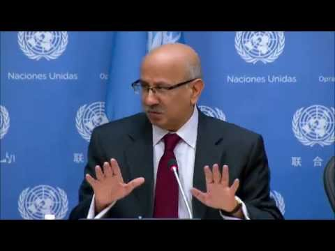 Navid Hanif, Economic and Social Council (ECOSOC) on Ebola - Press Conference (11 December 2014)