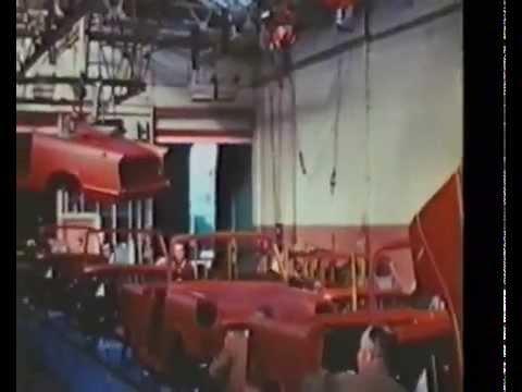 Standard Triumph Factory, Canley. Triumph Herald Production