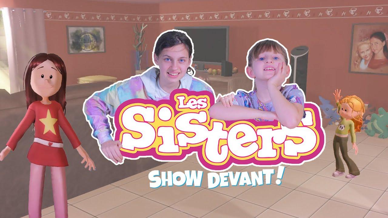 Kalys et Athéna jouent au jeu LES SISTERS SHOW DEVANT ! Studio Bubble Tea
