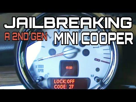 MINI Cooper Experts Accessing Hiden DATA