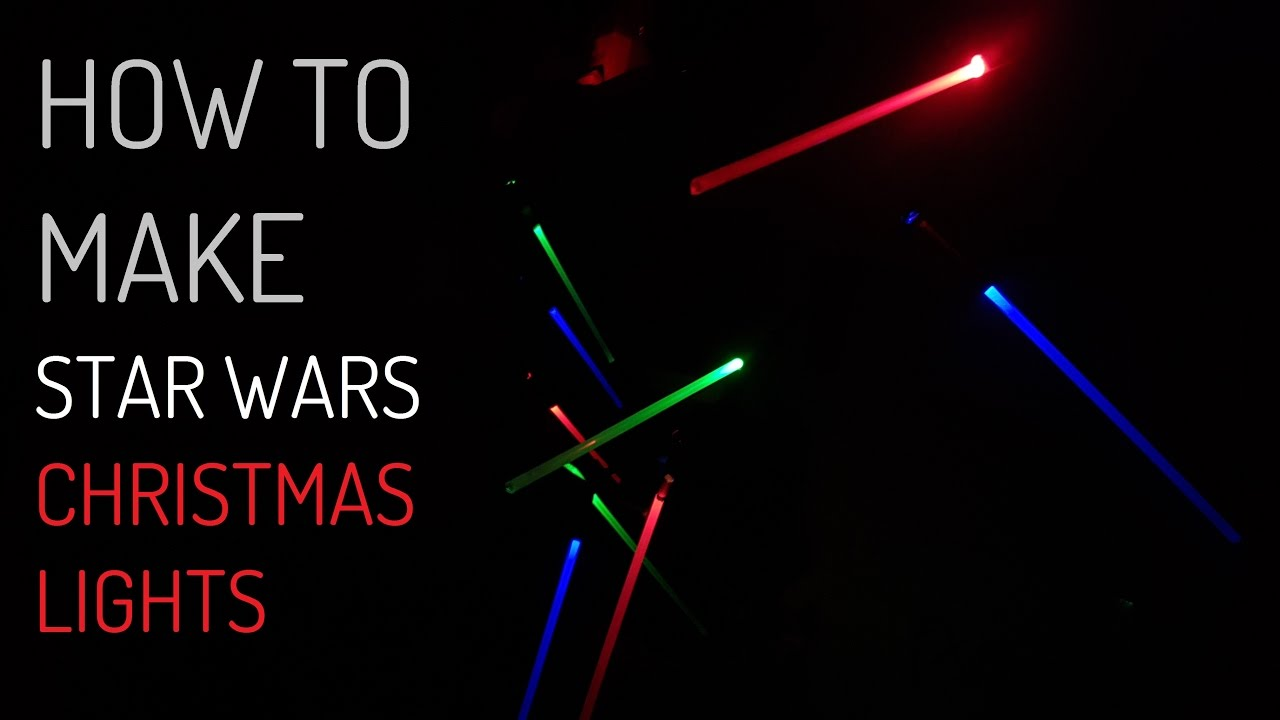 how to make programmable lightsaber christmas lights projects every weekend