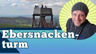 Ebersnackenturm im Vogler von oben - Weserbergland Aussichtsturm Solling-Vogler-Region Bodenwerder
