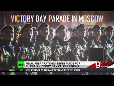 Final preparations for Victory Day parade in Moscow