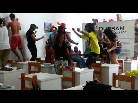 Students Harlem Shake - Durban Business College