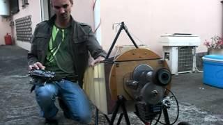 MORANE au 1/3 moteur Zenoah 38 Réducté