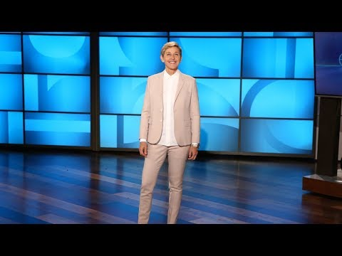 Ellen's Summer Vacation Included House Renovations and… a Nude Beach?