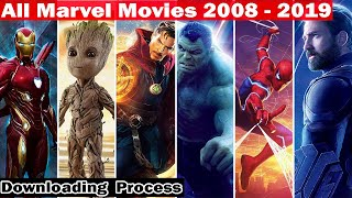 All marvel movies in order 2008 - 2019 | How to watch marvel movies in order