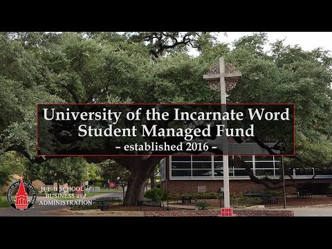 University of the Incarnate Word Student Managed Fund