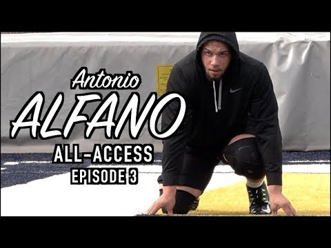 Antonio Alfano All-Access | Episode 3 | Inside the Training of an Elite Pass Rusher
