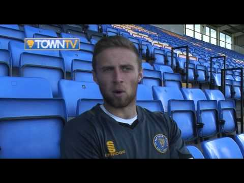 Jordan Clark on signing for Town  - Town TV