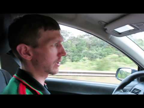 Driving in French Guyana to St Laurent from Kourou   June 2014