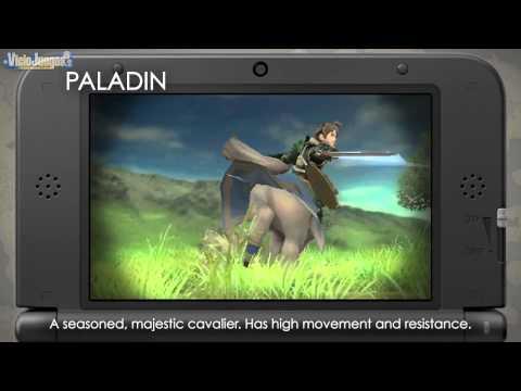 Fire Emblem Awakening - Clases de personajes [720p]