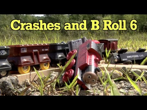 Thomas and Friends - Slow Motion Crashes and B Roll 6