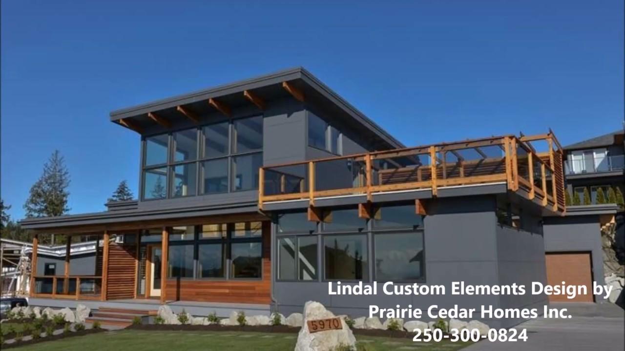 Lindal Cedar Homes Custom Jasper By Prairie Cedar Homes Inc Youtube