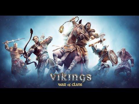 Vikings: War of Clans gameplay android скачать игру