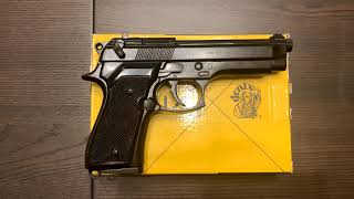 Пистолет Беретта 92, Beretta Pistol, Italy 1975, Denix 1254