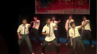 DERRY THUNDER BOYS GROUP INDIAN HINDI MALAYALAM FUSION DANCE Dhinka Chikka Subha Hone Na De Marjaani