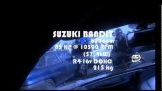 Suzuki Bandit VS Alfa Romeo 156