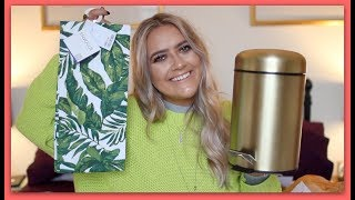 HOMEWARE HAUL FOR THE FLAT! H&M HOME, URBAN OUTFITTERS, MADE & TKMAXX | EmmasRectangle