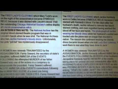 FILM ENTIER  the truth about ABRAHAM LINCOLN and John F. KENNEDY