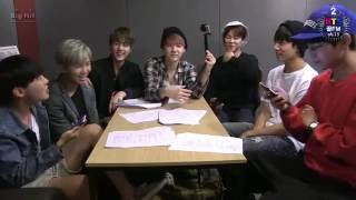[SUB ESPAÑOL] BTS 꿀 FM 06 13 2nd BTS birthday 'BTS FESTA 2015'