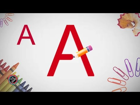 How to write the English Alphabet A to Z | ABC Songs for Kids