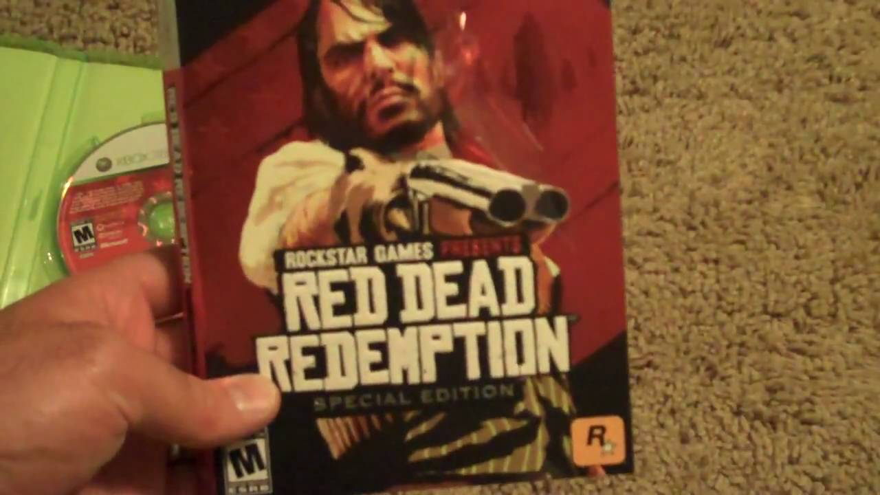 Red dead redemption game of the year edition for xbox one.