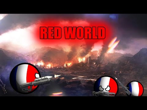 """видео: CountruBalls Альтернативное будущее мира """"REDWORLD"""" 2-я серия"""